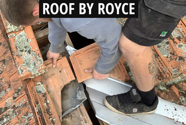 Roof Valley Repair Fitting