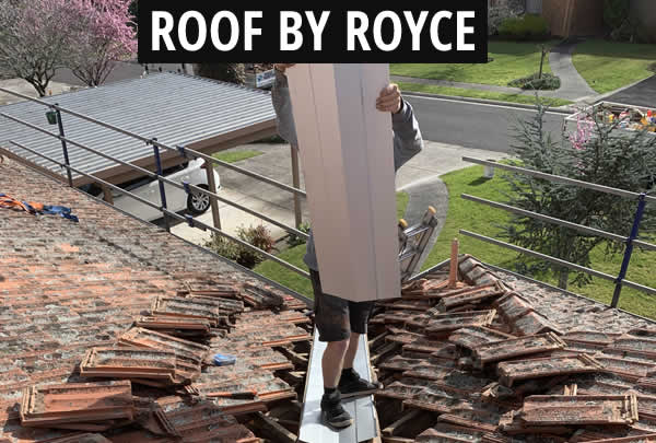 Roof Valley Repair Layout