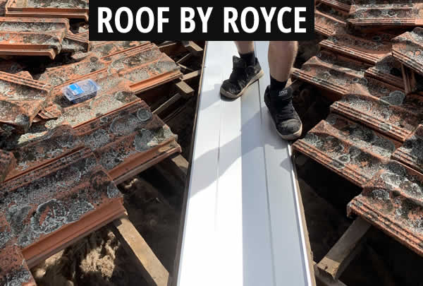 Roof Valley Repair New