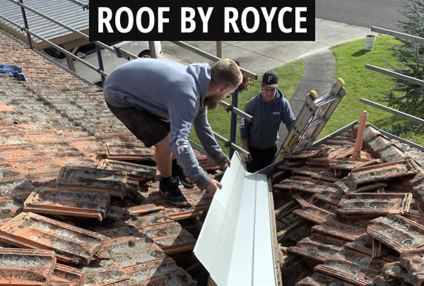 Roof Valley Repair Start