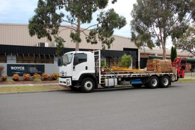 Royce Roofing Deliveries