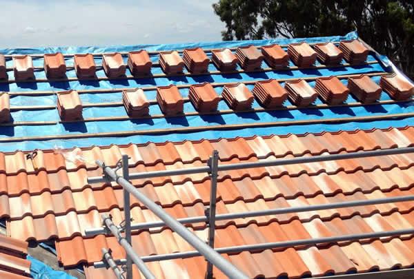 Terracotta Roof Tiles - Building